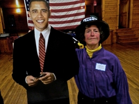Me and the president