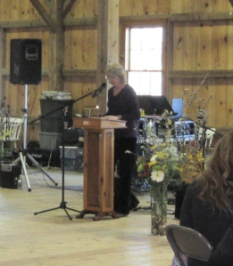Deborah Mayhew, Todd's partner, organized the organizers and emceed at the memorial celebration.