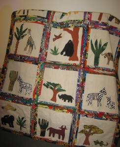 Rwanda quilt