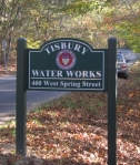 water works sign