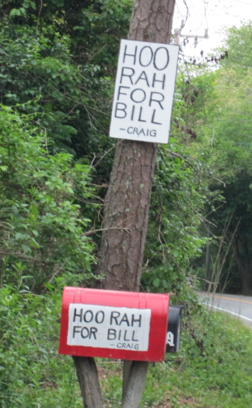 hoo rah sign & box