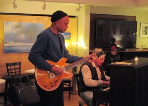 George Davis on guitar, Mait Edey on piano. Pathways, December 31, 2014.