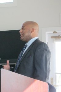 Candidate Marc Rivers