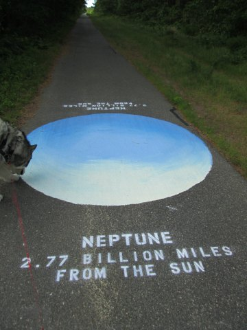 Trav checks out Neptune.