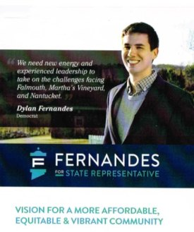 Dylan Fernandes, Democratic nominee for Mass. state house of representatives