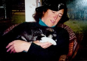 Susanna and puppy